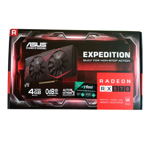 Asus Expedition Radeon RX570 Ekran Kartı